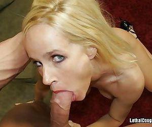 A leggy mature babe gets a hard dicking - part 3068