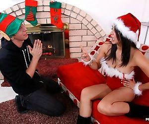 Naughty step-mom gets horny around the holidays - part 238