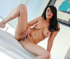 Johnny oils up charleys big tits and milf pussy - part 3310