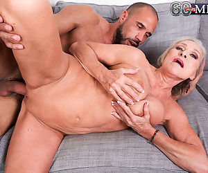 Elegant granny goes for big cock and grinds of it like real whor - part 3183
