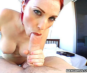 Hot massage from a hot red head - part 3303