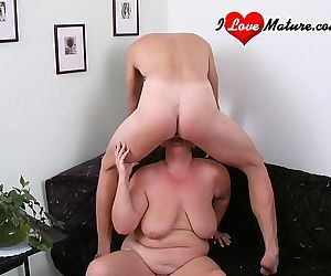 This old whore loves to have some cock - part 411
