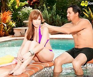 Dp pool party for mature woman - part 2490