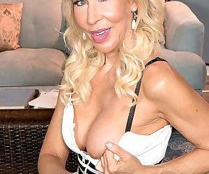 Mature pornstar erica lauren gets happy sex on granny 60th birth - part 13