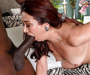 Mature latina fucked and creampied by a black cock - part 5