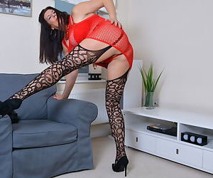 Big breasted housewife lulu loves to play alone - part 13