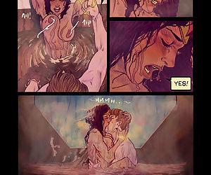 Wonder Womans Bathroom Break