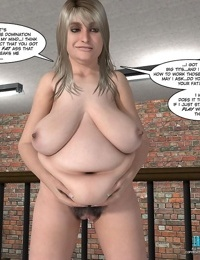 A fat woman getting sex in these comics - part 4