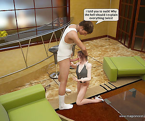 MagicIncest- Alice knows what can make her dad horny