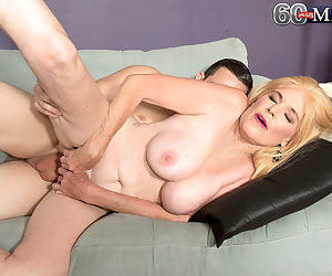 Blonde granny charlie doing her toy boy - part 3020