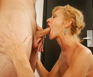Horny housewife fucking her boy toy - part 469