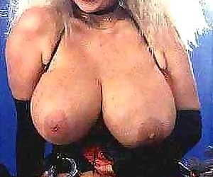Amazing retro pornstar with huge boobs in classic sex pics - part 870