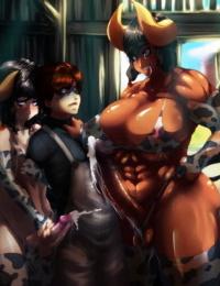 Furry- Animal and Monster Futanari #2 - part 2