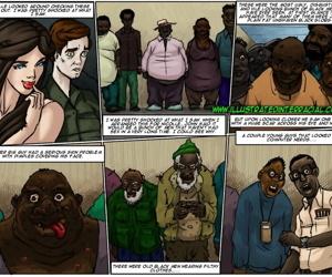 illustratedinterracial- Slut for Ugly Black Men