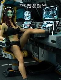 3DZen- Bounty Huntress Arie- Cockpit
