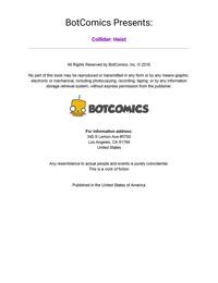 Bot- Collider- Heist Issue 1