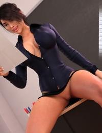 Crazysky3d- Monica A Teacher With Passion