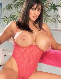 Hot MILF Rukhsana releases her huge boobs from her onesie