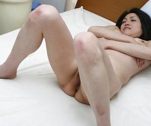 Asian MILF Miki Ohnuma vibes her hairy cunt and enjoys hardcore fucking