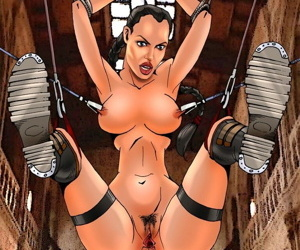 Sinful Comics - Angelina Jolie / Tomb Raider / Mr. and Mrs. Smith - part 3