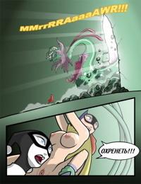 Бэт-герл против Ядовитого плюща