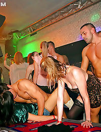 Twatty amateurs getting drunk and going wild at the sex party