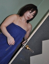 Asian chick Yumi Ohno has some nipples mangina and beaver fingerblasting joy