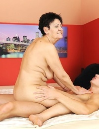 Nude granny smallish her step-grandson over the course of summer holidays