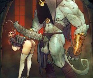 Picture- Monster cock cartoon porn