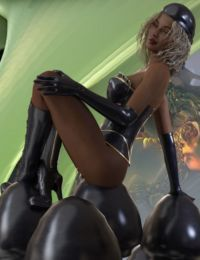 ARTIST - ROB - Alice in Rubberland - 3D - part 2