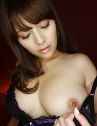 Sexy japanese model megu fujiura in lingerie - part 2488