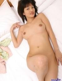 Lovely japanese babe nana posing naked showcasing hooters - part 3685