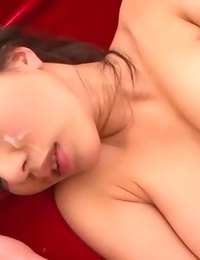 Thick tits asian stunner ruri saijou in crimson sofa screwed in pussy - part 4369