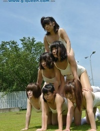 Naked asian queens playing outdoor - part 2568