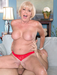 Light-haired granny rock hard fucked in crazy cuckold pornography - part 1277