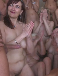 It's something you have never seen before! petr and 25 horny grannies! - part 299