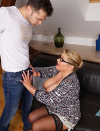 Thick titted german housewife playing with her fucktoy boy - part 2740