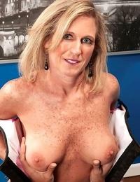 Wild mature lady likes degustating ebony sensitive - part 4776