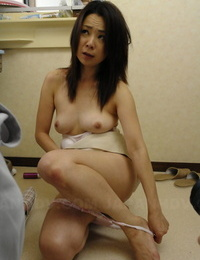 Japanese doll Nanako Misaki cups a funbags while huge-titted cock